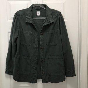 GAP Green Chore Jacket Large